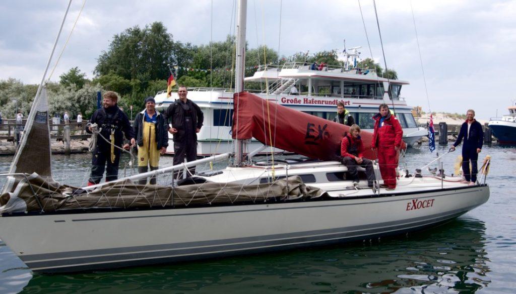 Exocet Crew Rund Bornholm 2012